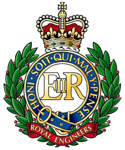 Cap Badge of the Corps of Royal Engineers - Royal Engineers