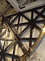 Royal Observatory Greenwich - Telescope Gallery - Bradley's 8-foot brass mural quadrant (8130912013).jpg
