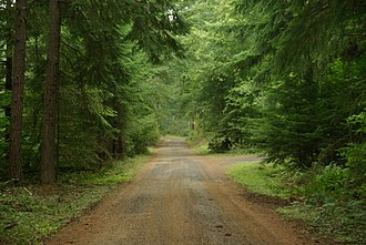 Gravel road - Image: Rrgrade