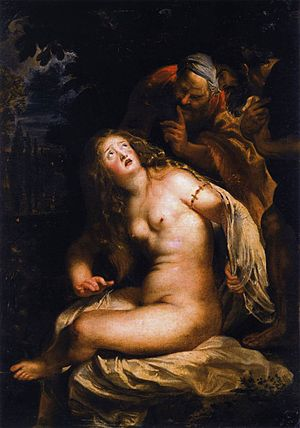 Susanna and the Elders (Rubens) - Image: Rubens Susanna