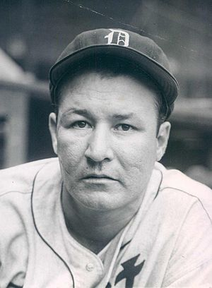 Rudy York - York with the Detroit Tigers in 1945
