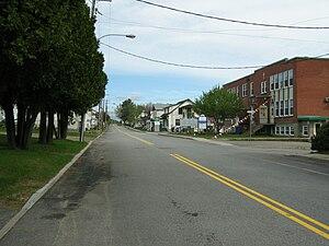 Saint-Jean-des-Piles, Quebec - Main street in Saint-Jean-des-Piles