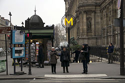 Rue de Lobau, Paris 18 January 2013.jpg