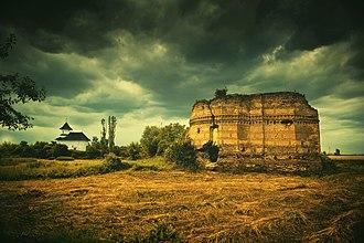 Târgșor - Ruins of the White Church in Târgșor