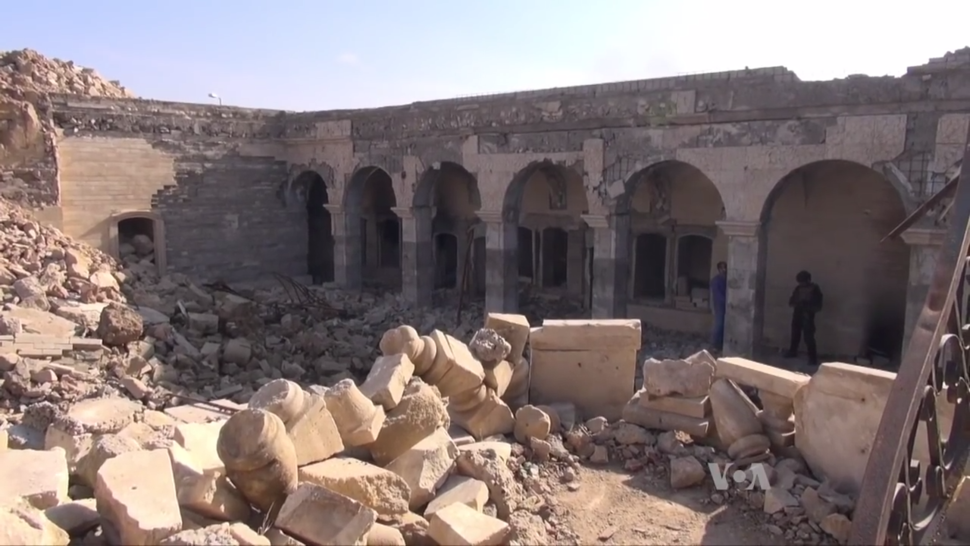 Ruins of the Mosque of Yunus
