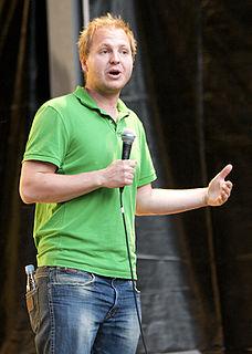 Rune Klan Danish magician and comedian