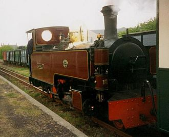North Wales Narrow Gauge Railways - Image: Russell Porthmadog