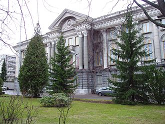 Raid over Moscow - The Soviet embassy at Tehtaankatu, Helsinki was the scene of part of the discussions concerning the game.