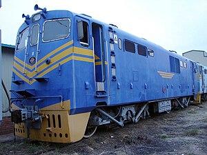 South African Class 12E - No. 12-003 at Koedoespoort, Pretoria, 2 October 2009