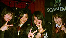 Le Scandal al Japan Nite US Tour nel 2008