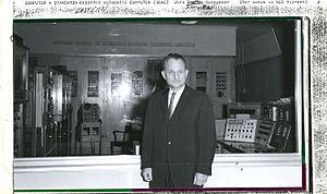 Samuel N. Alexander - Samuel N. Alexander with SEAC