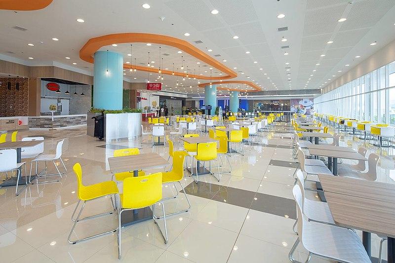 File:SM City Legazpi Food Hall.jpg