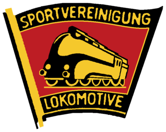 Sports associations (East Germany) - Image: SV Lokomotive