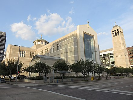 Co-Cathedral of the Sacred Heart Sacred Heart Co-Cathedral Houston 2018b.jpg
