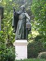 Sacro Monte di Varallo - statua a Bernardino Caimi.JPG