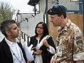 Sadiq Khan and Yasmin Qureshi talk to British troops in Kabul (2473583886).jpg