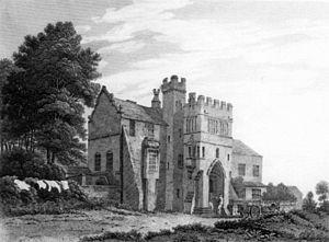 Charles Heath - Saighton Grange (1817, engraving after George Pickering)