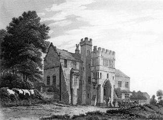 Charles Heath - Saighton Grange (1817, engraving after George Pickering)