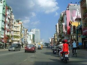 Ho Chi Minh City street scene