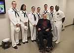 Sailors onboard GHWB participated in a namsake visit to College Station, Texas to engage with the local community about the importance of the Navy in defense and prosperity. 161112-N-SO730-304.jpg