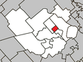 Saint-Alexis (Village) Quebec location diagram.png