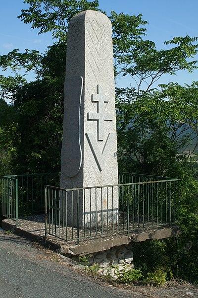 Saint-Chinian (Hérault) - mémorial de la Résistance au col de Fontjun - 6 et 7 June 1944.