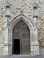 Saint-Méen-le-Grand (35) Abbatiale portail principal.jpg