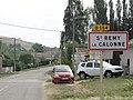 Saint-Rémy-la-Calonne (Meuse) city limit sign.JPG