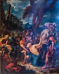 Saint André tressaille de joie à la vue de son supplice