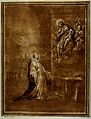 Saint Antony of Padua. Colour aquatint by A. Scacciati after Wellcome V0031619.jpg