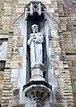 Saint John the Evangelist Cathedral (Cleveland, Ohio) - St. Paul statue.jpg