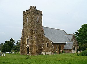 Haynes Church End - Image: Saint Mary's Church, Haynes Church End geograph.org.uk 824843