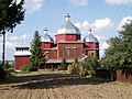 Saint Nicholas church, Novosilky, Busk Raion (01).jpg