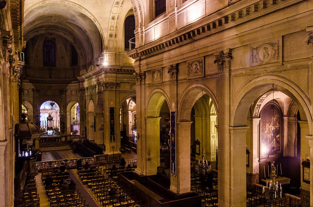 Saint Nicolas du Chardonnet - nef et choeur