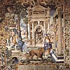 Saint Mammes and Duke Alexander Tapestry