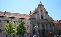 Saints Adalbert and Stanislaus church in Kalisz.jpg