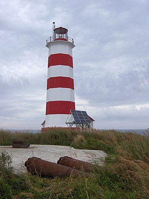 Halifax, Nova Scotia - Sambro Island Lighthouse, the oldest lighthouse in North America (1758)