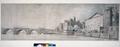 Samuel Scott, Une vue du pont de Westminster et des parties adjacentes, YCBA.png
