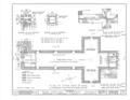 San Carlos Presidio Church, 550 Church Street, Monterey, Monterey County, CA HABS CAL,27-MONT,1- (sheet 3 of 28).png