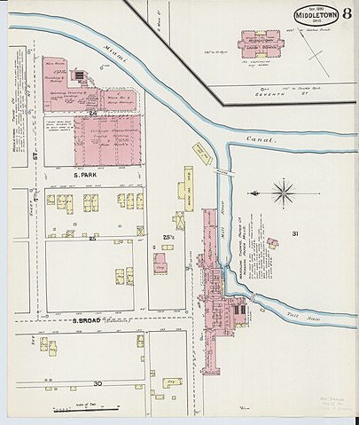 File Sanborn Fire Insurance Map From Middletown Butler County Ohio