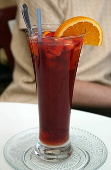 Sangria in a tall skinny glass in Malaga.jpg