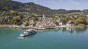 Sankt Gilgen on Lake Wolfgang