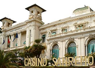 Sanremo Music Festival - The Sanremo Casino hosted the Sanremo Music Festival between 1951 and 1976.