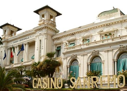 The Sanremo Casino hosted the Sanremo Music Festival between 1951 and 1976. Sanremo0005.jpg
