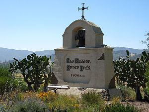 Mission Santa Inés - Santa Ines marker