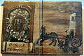 Santuario della Madonna di San Romano, ex-voto caduta da carro 1705.JPG