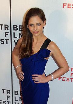 Sarah Michelle Prinze utanför Tribeca Film Festival, Maj 2007