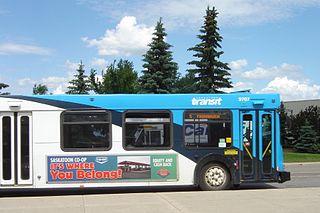 Saskatoon Transit Public transport system in Saskatchewan, Canada