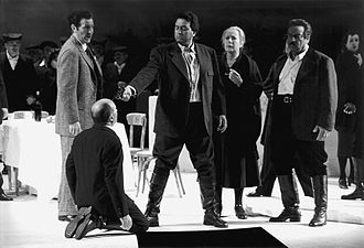 Salvatore Giuliano - Scene from the opera Salvatore Giuliano by Lorenzo Ferrero, 1996.