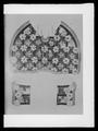 Schabrak i drottning Maria Eleonoras färger (rött-vitt) - Livrustkammaren - 45584.tif